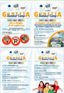 gonetta summer camp